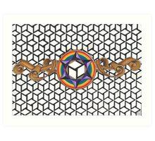 Healing Multi-Dimensional Antahkarana Art Print