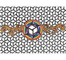 Healing Multi-Dimensional Antahkarana Photographic Print