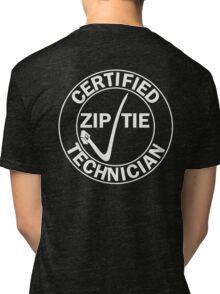 Drifter - Certified zip tie technician Tri-blend T-Shirt