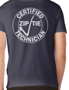 Drifter - Certified zip tie technician Mens V-Neck T-Shirt