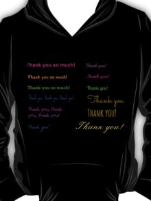 A simple grateful thought... T-Shirt