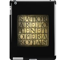 SATOR Square iPad Case/Skin