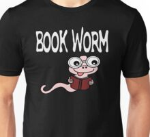 Reading - Book Worm Unisex T-Shirt