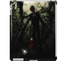 slender man  iPad Case/Skin