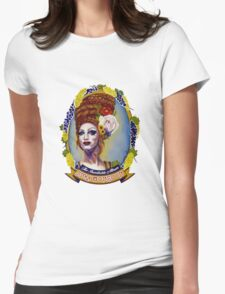 Jinkx Monsoon - The Inevitable Album Portrait. Womens Fitted T-Shirt
