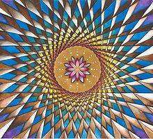 The Divine Rainbow Alignment Grid  by Francesca Love Artist