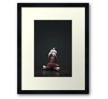 Crying Bear Framed Print