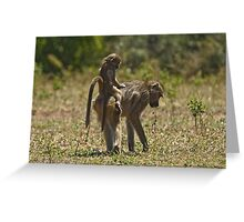 Mother care (II) Greeting Card