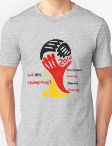 FIFA World Cup Champion Germany Deutschland Glückwunsch T-Shirt