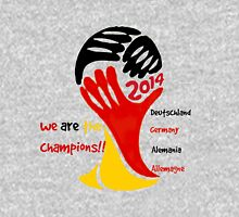 FIFA World Cup Champion Germany Deutschland Glückwunsch Unisex T-Shirt