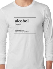 alcohol Long Sleeve T-Shirt