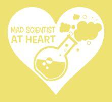 Mad Scientist at Heart Kids Tee