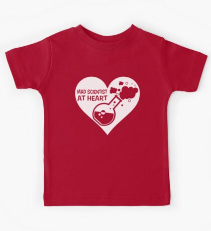 Mad Scientist at Heart Kids Tee