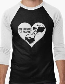 Mad Scientist at Heart Men's Baseball ¾ T-Shirt