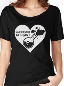 Mad Scientist at Heart Women's Relaxed Fit T-Shirt