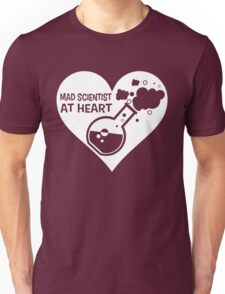 Mad Scientist at Heart Unisex T-Shirt