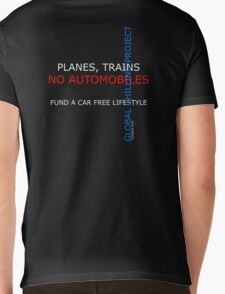 planes trains no automobiles Mens V-Neck T-Shirt