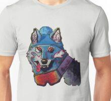 Wolf in Beanie Unisex T-Shirt