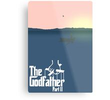 Godfather part 2 Metal Print