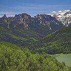Silver Jack Reservoir and Turret Ridge by Tamas Bakos
