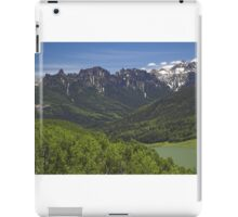 Silver Jack Reservoir and Turret Ridge iPad Case/Skin