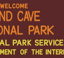Wind Cave National Park Sticker