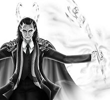 Loki - God of Mischief by routamaa