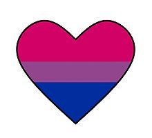 Bisexual Pride Heart by McArtistic