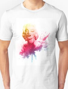 Marilyn Monroe Color Explosion  T-Shirt