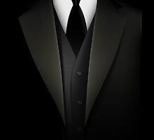 Men's Tuxedo Suit   by CroDesign