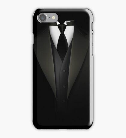 Men's Tuxedo Suit   iPhone Case/Skin