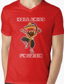 Hola Amigo, I'm Luisin! Mens V-Neck T-Shirt