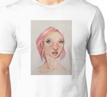 A Portrait in Pink Unisex T-Shirt