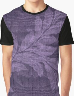 Breezy Purple Graphic T-Shirt