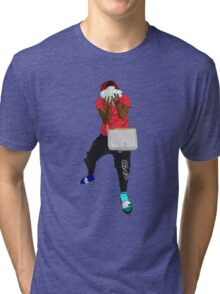 Famous Dex Cartoon Tri-blend T-Shirt