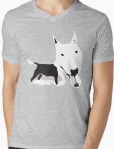 Doggie Mens V-Neck T-Shirt