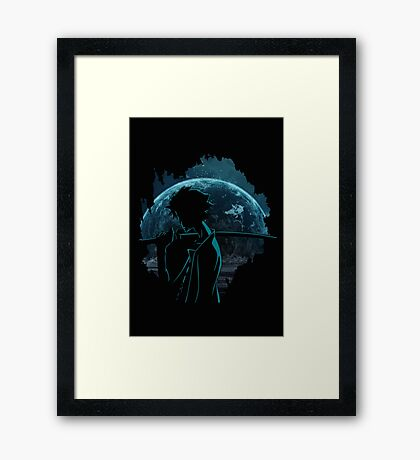 Way of mugen Framed Print