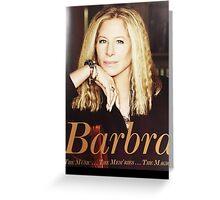 Chard04 Barbra Streisand TOUR 2016 Greeting Card
