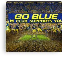 Heaven in The Big House Canvas Print
