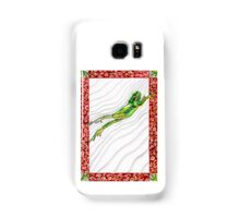 Watch a Leaping Frog Samsung Galaxy Case/Skin
