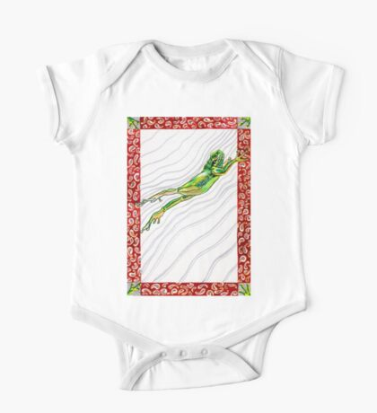 Watch a Leaping Frog One Piece - Short Sleeve