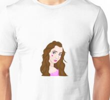 Dollhouse inspired drawing of Sarah Carpenter Unisex T-Shirt