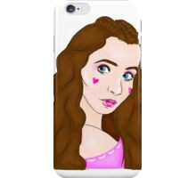 Dollhouse inspired drawing of Sarah Carpenter iPhone Case/Skin