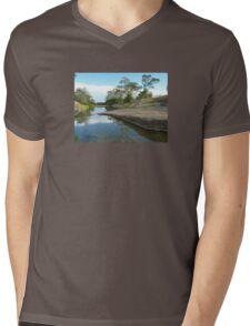 Medway Creek ,Bogantungan ,Queensland.  Mens V-Neck T-Shirt