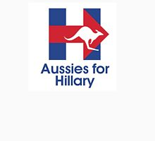 Aussies for Hillary Unisex T-Shirt