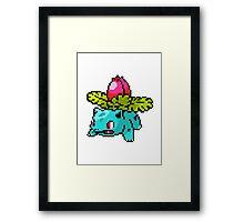 Pokemon - Ivysaur Framed Print