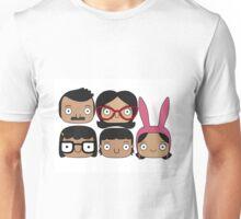 Bobs Burgers Character Doodle Unisex T-Shirt