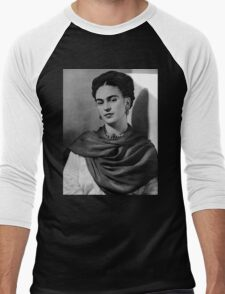 Frida Kahlo Men's Baseball ¾ T-Shirt