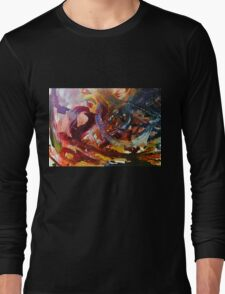 Colorfully Heartless Long Sleeve T-Shirt