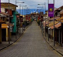 The Inca Trail Passes Through Cuenca by Al Bourassa